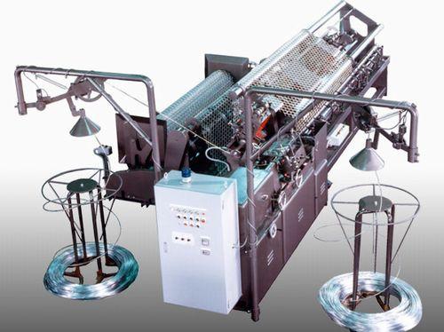 菱形金網製造機