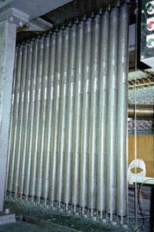 亀甲金網製造機